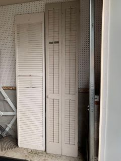 Shutter/Bi-fold Door Project Pieces