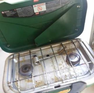 Coleman travel grill