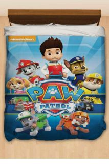 Paw Patrol Full/Queen Duvet Cover and Shams
