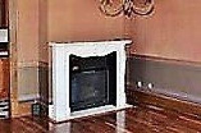 LOUIS VI STONE FIREPLACE SURROUND INCLUDING INSERT