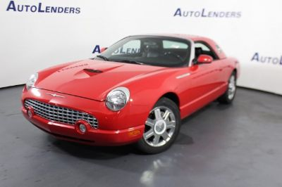 2005 Ford Thunderbird Deluxe (red)