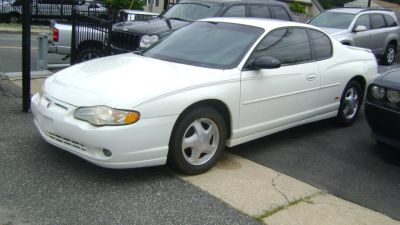 2004 Chevrolet Monte Carlo SS (White)