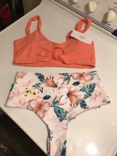 New baiting suit. Cheeky scrunched back