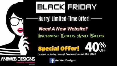 Get An Exclusive Offer To Design Website On Black Friday