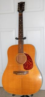 Gibson J50 Acoustic Guitar with hard case