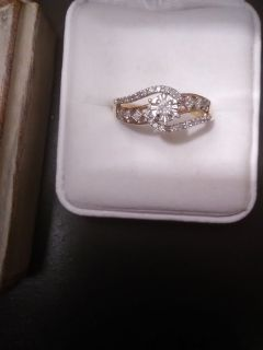 NWT 1/5 carat Diamond Engagement Ring