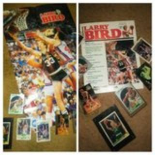 Larry Bird collectibles