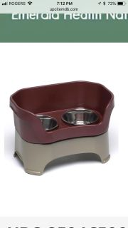 Neater feeder dog feeding system. 85$ in stores