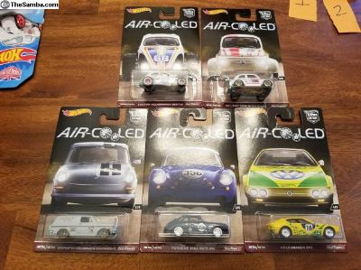 Hot Wheels Car Culture Air Cooled set of 5.
