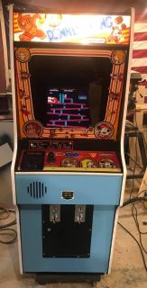 DONKEY KONG ARCADE W 48 GAMES ORIGINAL CABINET RESTORED