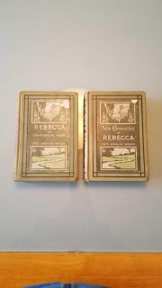 2 antique books from 1903 and 1906