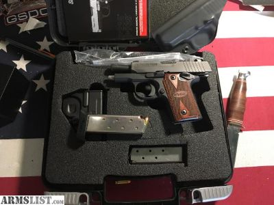 For Sale/Trade: Sig P238 Rosewood w/ Extras