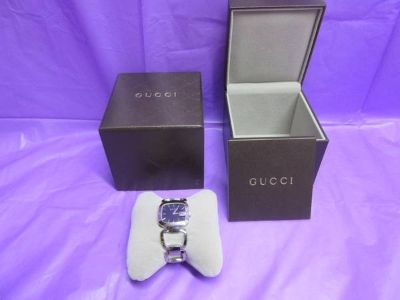 New Gucci Women's Swiss WATCH G-Gucci 125.4 SERIES Stainless Steel Bracelet
