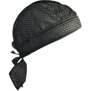 Purchase Zan Headgear Vented Flydanna Headwraps Sport Black motorcycle in Holland, Michigan, United States, for US $12.02