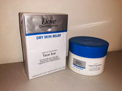 Dove DermaSeries Dry Skin Relief Set