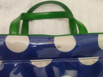 Authentic Kate Spade cosmetic bag with matching case
