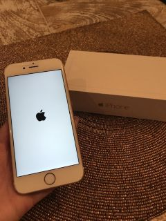 Apple IPhone 6 gold in good condition