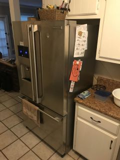 Electrolux icon French door refrigerator.