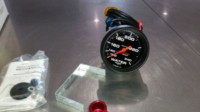 Buy Liquid Filed Water Temperature Gauge, GM Performance Pat, Calibrated 140-240 deg motorcycle in California, Missouri, United States, for US $120.00