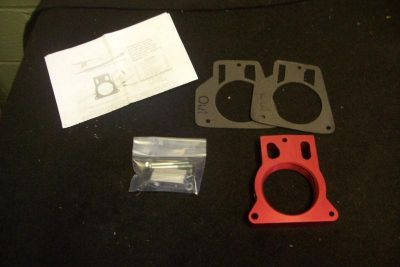 Purchase Airaid Poweraid Throttle Body Spacer 5.3L 6.0L 04 GTO 5.7L LS1 200-612-P Hot Rod motorcycle in Euclid, Ohio, US, for US $110.00
