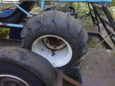 Paddle Tires on wide five wheels / sand rail
