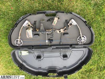 For Sale: PRICED TO SELL TODAY ! - Qwest by G5 Hammer Compound Bow with Case, Release and some Arrows