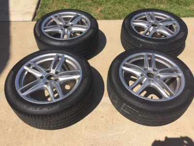 Set of Four 19 inch wheels and tires for 2012 Porsche Panamera