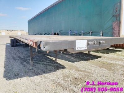 2006 53ft X 102in Transcraft TL-2000 Flatbed Trailer