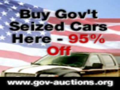 Gov-auctions.org - #1 Government & Seized Auto Auctions. Cars 95% Off!