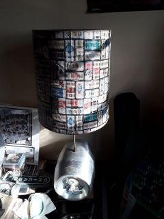 HAMMS BEER KEG LAMP
