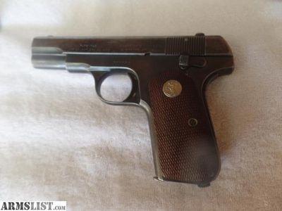 For Sale: Colt Auto 32