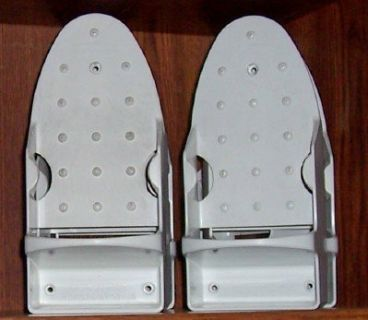Commercial grade rubbermaid iron/iron board holder
