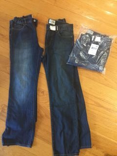 boys jeans - 12, 2 new , other are like new