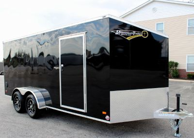 2019 ALL ALUM 7'x16' Cargo Trailer w/Ramp Door