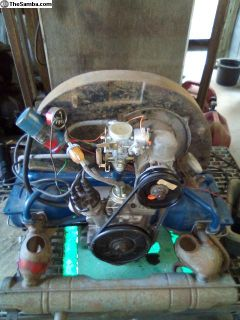Engine 40hp good used running UPDATED