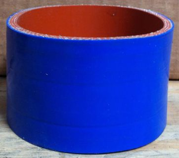 """Sell Blue Exhaust Intake Turbo 3.5"""" x 2"""" Silicone 4-Ply Coupler Pipe Hose BRAND NEW motorcycle in Valencia, California, US, for US $2.25"""
