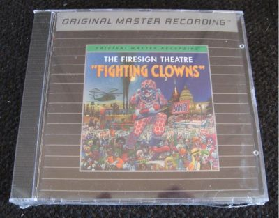 Mobile Fidelity Sound Lab ~ MFSL ~ Firesign Theatre ~ Fighting Clowns