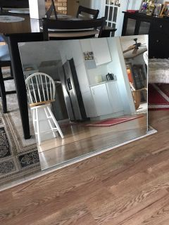 3ft by 3 1/2 ft mirror