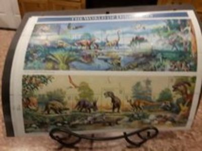 The World of Dinosaurs stamps