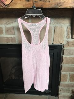 Jrs lacy racer back tank size small