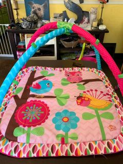 2 play mats. Both in excellent condition. Does not come with toys.