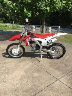 2015 Honda CRF450R Motocross Motorcycles Fayetteville, GA