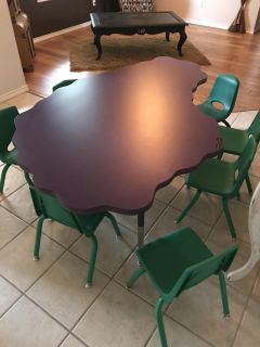 Table and chsirs