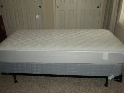 New twin bed