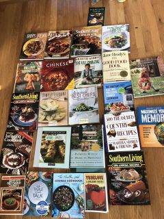 Huge Lot of Cook Books!!!!