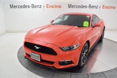 2016 Ford Mustang EcoBoost (Competition Orange)