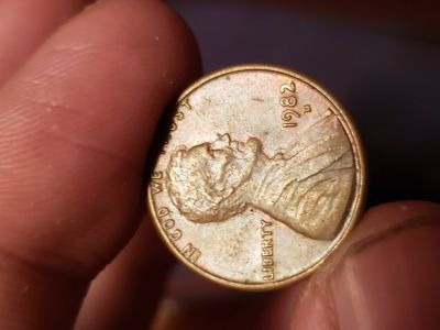 Rare coin 1982 small date it's worth 25000