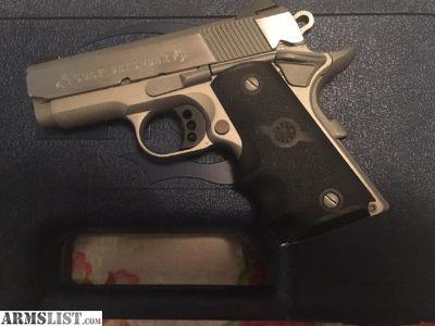 For Trade: WTT Colt Defender 9