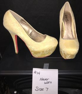 Never worn size 7