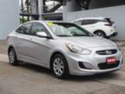 Used 2014 Hyundai Accent Silver, 29.3K miles